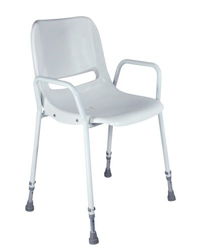 Milton Adjustable Height Shower Chair